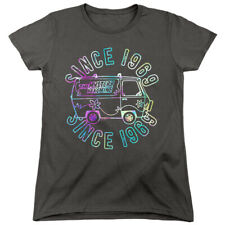 Scooby Doo Womens T-Shirt Grooving Since 1969 Charcoal Tee