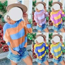 Blouse Long Sleeve Womens Top Loose T-Shirt Casual Pullover Ladies Shirt