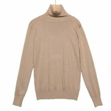 Turtleneck sweater Solid Casual Pullover T-shirt Fashion Tops Blouse Women's