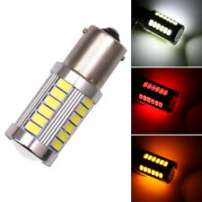 2PCS LED Car Bulbs BA15S P21W 1156 Backup Reverse Light 33-SMD 5630 5730 Bulbs