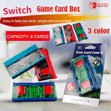 DN Nintendo Switch Bounce Game Card Storage Box Card Holder Color Game Card Box