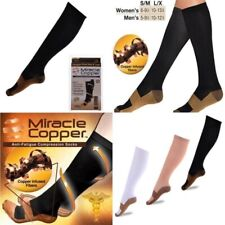 Newest Graduated Men's Women's Copper Infused Compression Socks 20-30mmHg