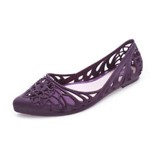 Women Breathable Sandals Shoes Slip On Flats Hollow Out Solid Color Loafers Hot