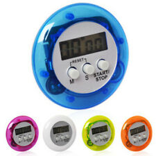 Kitchen Timer Round Electronic Digital Cooking Timers F.Home Loud Alarm Portable