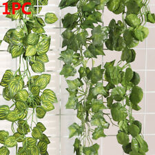 Real Touch Wall Hanging Fake Foliage Garland Plants Vine Artificial Ivy Leaves
