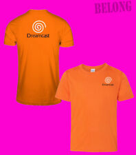 Dreamcast Cool Retro Sega Logo New Men's Font Back T-Shirt Tee Size USA