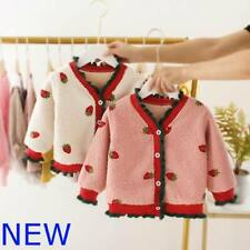 Girls Winter Jacket Coat Toddler Hoodie Outerwear Kids Padded Baby Clothes Warm