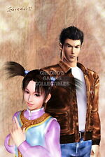 122269 Shenmue II Ryo and Fangmei Sega DreamCast Decor LAMINATED POSTER DE