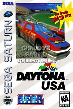 122736 Daytona USA Sega Saturn Decor LAMINATED POSTER DE