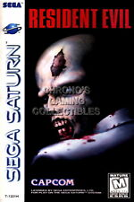 123864 Resident Evil Original Sega Saturn Decor LAMINATED POSTER DE