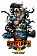 122282 Street Fighter III 3rd Strike Online DreamCast Decor LAMINATED POSTER CA