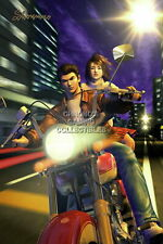 122319 Shenmue Ryo and Nozomi Sega DreamCast Decor LAMINATED POSTER CA