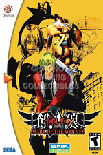 123866 Fatal Fury Mark of the WolveSega DreamCast Decor LAMINATED POSTER CA