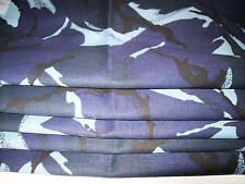 MADE TO MEASURE lined ROMAN BLIND DENIM ARMY CAMOFLAGE