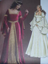 BUTTERICK #B4571 LADIES RENAISSANCE COURT GOWN PATTERN