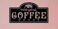 Coffee Kitchen Wall Stickers Vinyl Letters Decal Words