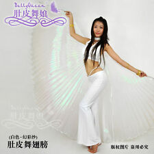 Belly Dance Costume Isis Wings Iridescent 360 ° Isis wings Gold Silver Opening