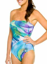Kiniki Bermuda Tan Thru Tube Swimsuit