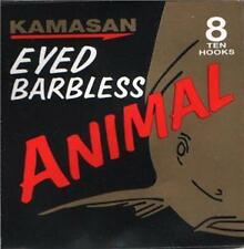 Kamasan Animal Hooks Barbless Eyed or Spade