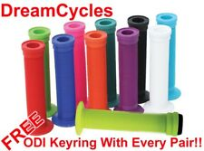 ODI Longneck BMX Grips + Bar Plugs (NEW!) Push Scooter