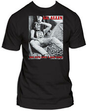Licensed GG Allin You Give Love A Bad Name Adult Shirt S-2XL
