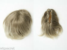 Short 9 in Wavy / Straight Blonde Brunette Red Claw Clips Hair Pieces