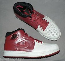 Nike Air Jordan Alpha 1 shoes sneakers mens new white red