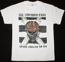 S.O.D. STORMTROOPERS OF DEATH'85 ANTHRAX M.O.D. MOSH THRASH WHITE NEW T-SHIRT