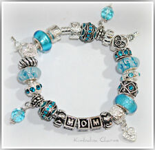 EUROPEAN STYLE CHARM BRACELET with BEADS  Mother's Day
