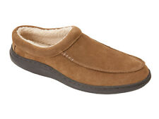 L.B. Evans Men's Scuff Slipper Edmonton Chestnut FREE SHIPPING