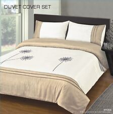 Duvet covers, Microfibre soft touch - all sizes - S/B - D/B - K/B RRP £29.99