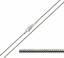 """925 Solid Sterling Silver  20 22 24"""" Inch 1.2mm Snake Chain Necklace"""