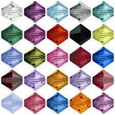 10 Swarovski Crystal 5328 Bicone 6mm Beads All Colour