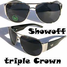 Triple Crown Fashion Aviator Sunglasses Club Cool Sport SuperStar