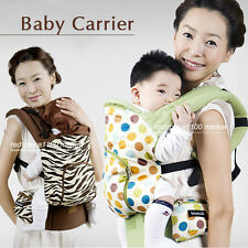 New Baby Carrier Natural Cotton material Free Gift 3 item Safety buckle device