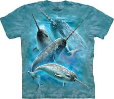 New NARWHAL WHALES T Shirt