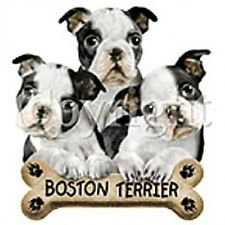 Boston Terrier Cute Little Puppies S-5X  Dog Lover Puppy T-shirt Tee