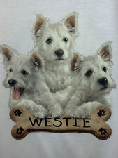 Westie Cute Little Puppies  FREE SHIP! S-5X Dog Lover Puppy T-shirt Tee Love