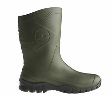 Mens/Ladies Dunlop Dee Widecalf Wellies/Wellingtons Green Sizes 4 to 12