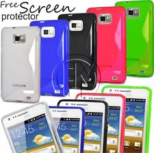 WAVE S LINE GRIP GEL CASE SILICON CASE COVER FOR SAMSUNG GALAXY S2  I9100 S 2