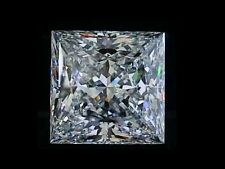 Flawless Princess LOOSE Lannyte Diamond Lab diamond 1 1.5  2  2.5  3  4  5 Carat
