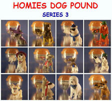 12 NEW RETIRED HOMIES DOG POUND SET 3 MINI CAKE TOPPER FIGURES YOU PICK ONE