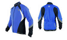 Sobike Cycling Fleece Thermal Long Jersey Wind Coat Winter Jacket-Aurora Blue