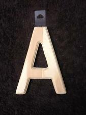 6 inch unfinished WOOD LETTER routered edge alphabet name wall word paint