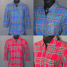Hollister By Abercrombie Womens Broad Beach Plaid Shirt