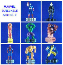 8 NEW MARVEL SPIDERMAN BUILDABLE SET #2 FIGURE CUP CAKE TOPPERS YOU PICK ONE
