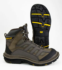 CATERPILLAR ACTUATOR WORN BROWN FLEXION SOLE STEEL TOE WORK BOOT (WIDE)