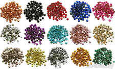 5mm Iron On Hot Fix Metal Studs in Varies Colours and Varies Lots