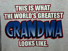 Worlds Greatest Grandma ! S-5XL T-Shirt Best Loved Mom Mamaw Granny Tee $6.99 up