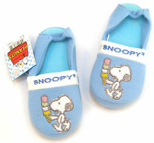 【SNOOPY NEW Slippers】Boys/Kids House Cheap Clogs Shoes Sandals Color Blues